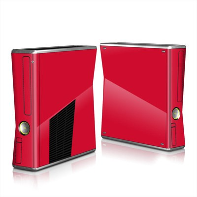 Xbox 360 S Skin - Solid State Red