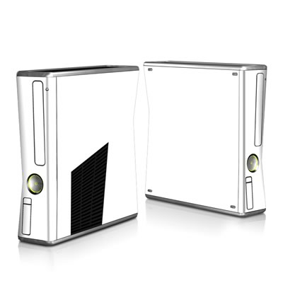 Xbox 360 S Skin - Solid State White