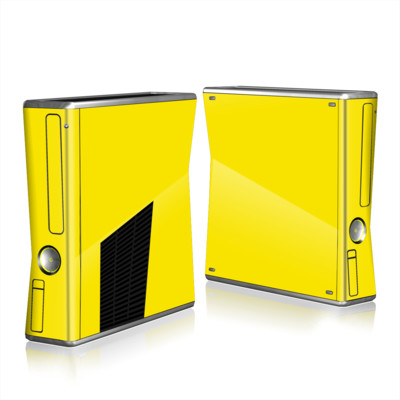 Xbox 360 S Skin - Solid State Yellow