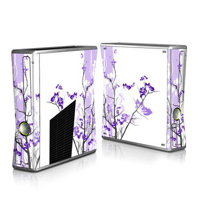 Xbox 360 S Skin - Violet Tranquility