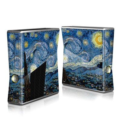 Xbox 360 S Skin - Starry Night