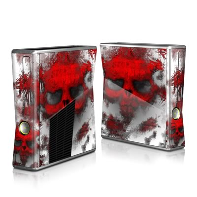 Xbox 360 S Skin - War Light