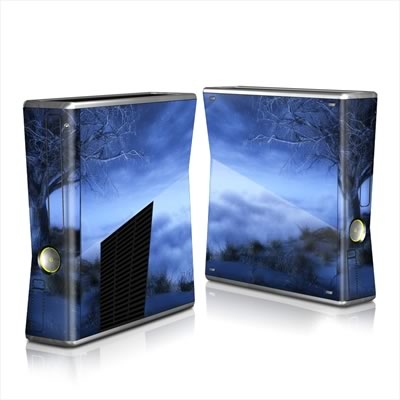 Xbox 360 S Skin - World's Edge Winter