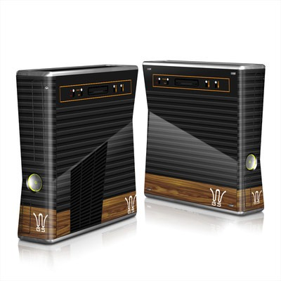 Xbox 360 S Skin - Wooden Gaming System