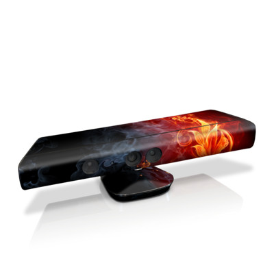 Xbox Kinect Skin - Flower Of Fire
