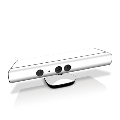 Xbox Kinect Skin - Solid State White