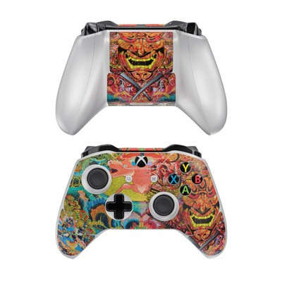 Microsoft Xbox One Controller Skin - Asian Crest