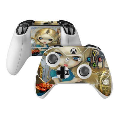 Microsoft Xbox One Controller Skin - Alice in a Dali Dream