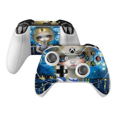 Microsoft Xbox One Controller Skin - Alice in a Van Gogh