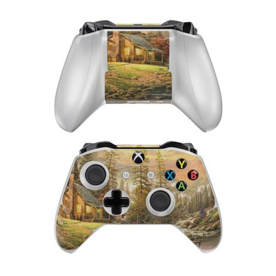 Microsoft Xbox One Controller Skin - A Peaceful Retreat