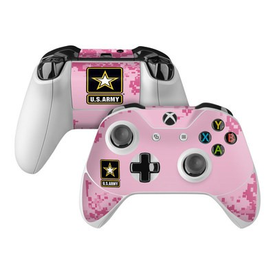 Microsoft Xbox One Controller Skin - Army Pink