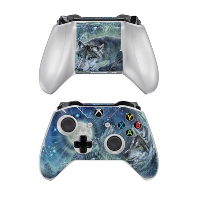 Microsoft Xbox One Controller Skin - Bark At The Moon
