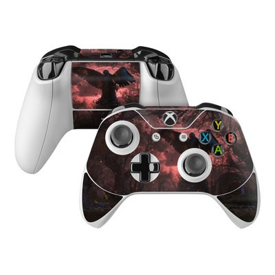 Microsoft Xbox One Controller Skin - Black Angel