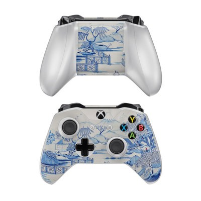Microsoft Xbox One Controller Skin - Blue Willow