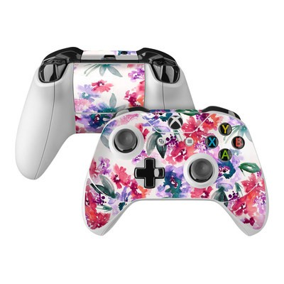 Microsoft Xbox One Controller Skin - Blurred Flowers