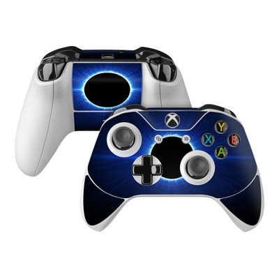 Microsoft Xbox One Controller Skin - Blue Star Eclipse