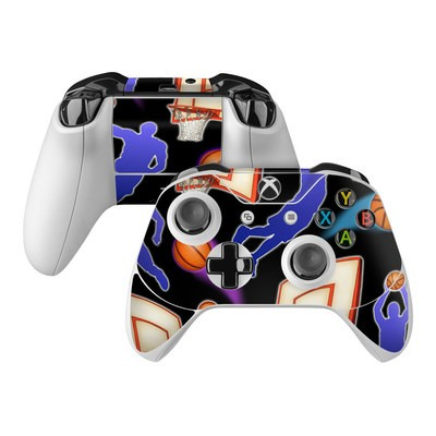 Microsoft Xbox One Controller Skin - Basketball Swish