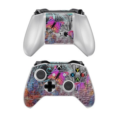 Microsoft Xbox One Controller Skin - Butterfly Wall