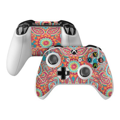 Microsoft Xbox One Controller Skin - Carnival Paisley
