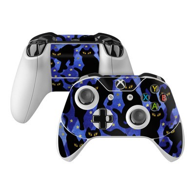 Microsoft Xbox One Controller Skin - Cat Silhouettes