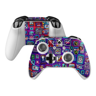 Microsoft Xbox One Controller Skin - Controlled Chaos