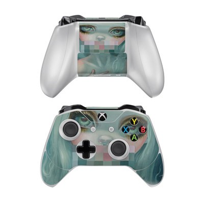 Microsoft Xbox One Controller Skin - Censored Smile