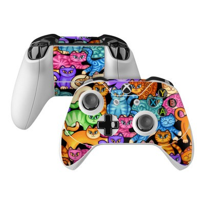 Microsoft Xbox One Controller Skin - Colorful Kittens