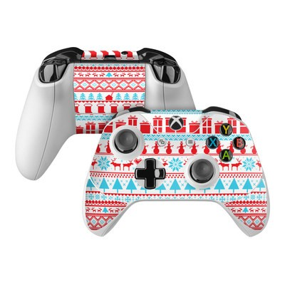 Microsoft Xbox One Controller Skin - Comfy Christmas