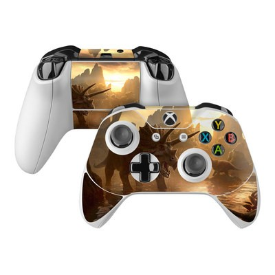 Microsoft Xbox One Controller Skin - Cretaceous Sunset