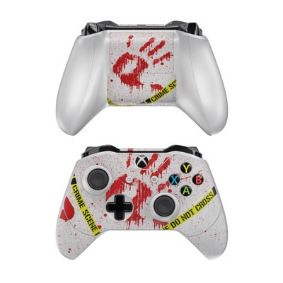 Microsoft Xbox One Controller Skin - Crime Scene Revisited