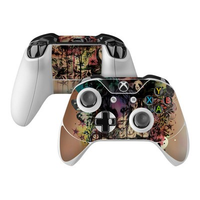 Microsoft Xbox One Controller Skin - Doom and Bloom