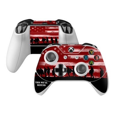 Microsoft Xbox One Controller Skin - Defend