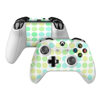 Microsoft Xbox One Controller Skin - Big Dots Mint