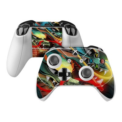 Microsoft Xbox One Controller Skin - Dragons