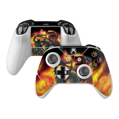 Microsoft Xbox One Controller Skin - Dragon Wars