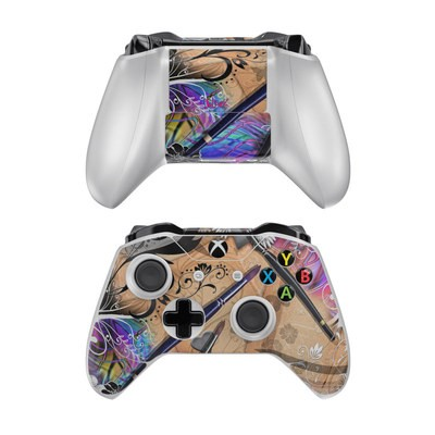 Microsoft Xbox One Controller Skin - Dream Flowers