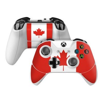 Microsoft Xbox One Controller Skin - Canadian Flag