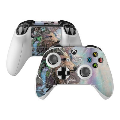 Microsoft Xbox One Controller Skin - Forest Warden