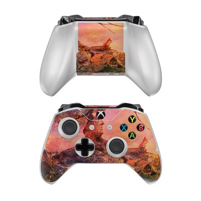 Microsoft Xbox One Controller Skin - Fox Sunset