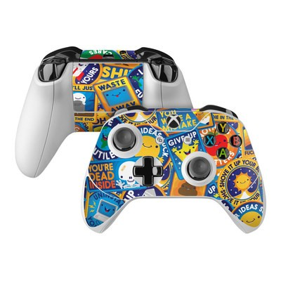 Microsoft Xbox One Controller Skin - Eff Right Off