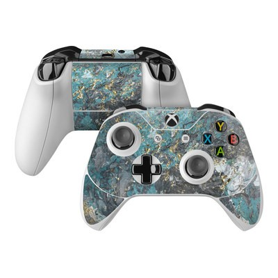 Microsoft Xbox One Controller Skin - Gilded Glacier Marble
