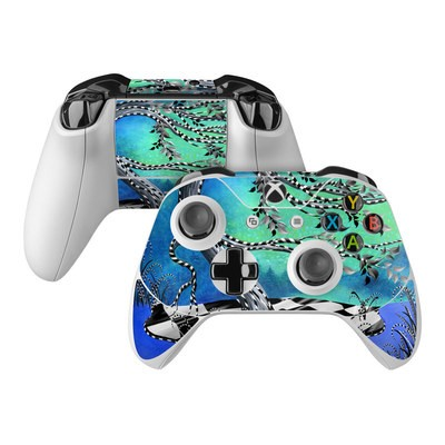 Microsoft Xbox One Controller Skin - Haunted Tree