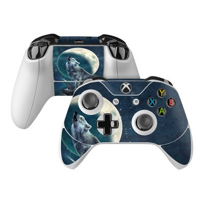 Microsoft Xbox One Controller Skin - Howling Moon Soloist