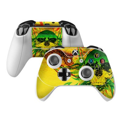 Microsoft Xbox One Controller Skin - Hot Tribal Skull