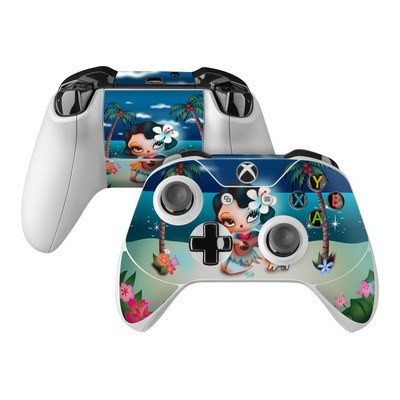 Microsoft Xbox One Controller Skin - Hula Night