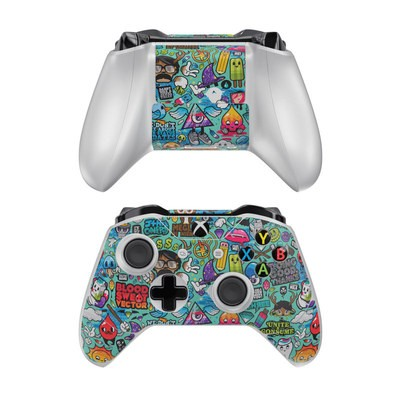 Microsoft Xbox One Controller Skin - Jewel Thief