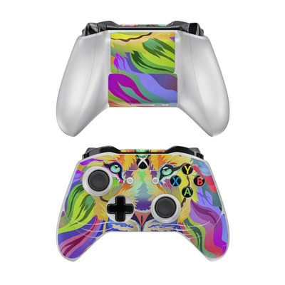 Microsoft Xbox One Controller Skin - King of Technicolor
