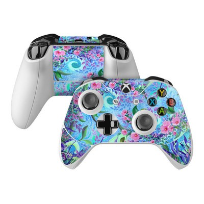 Microsoft Xbox One Controller Skin - Lavender Flowers