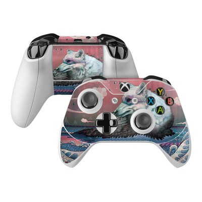 Microsoft Xbox One Controller Skin - Lone Wolf