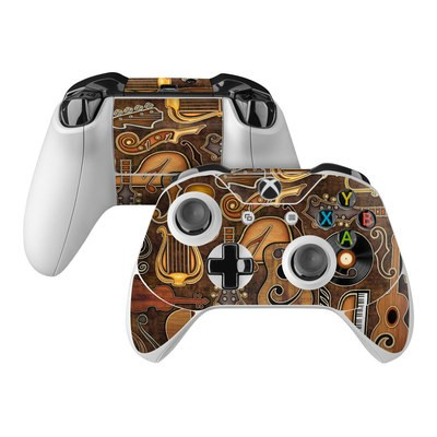 Microsoft Xbox One Controller Skin - Music Elements